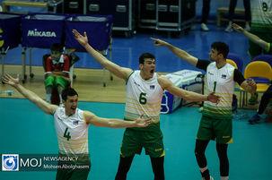 حریف ایران در فینال والیبال قهرمانی آسیا مشخص شد