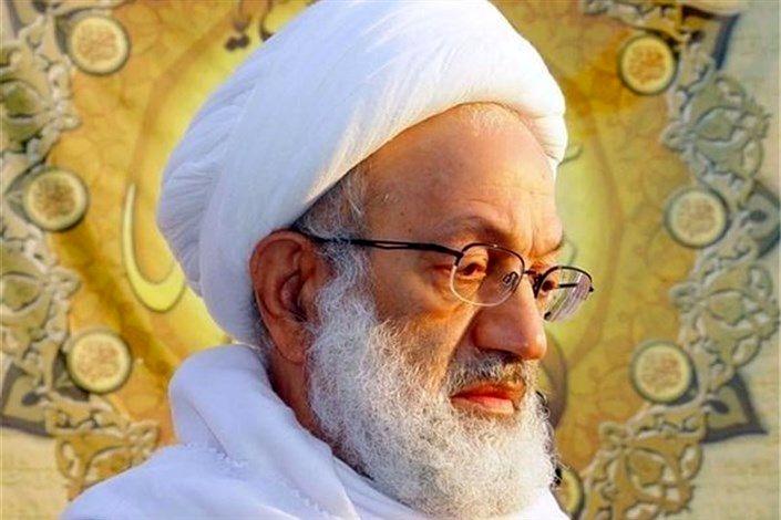 آیت الله شیخ عیسی قاسم  در یکی از بیمارستان های تهران بستری شد