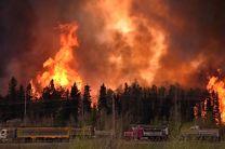 فرار شبانه 10 هزار فرانسوی از ترس آتشسوزی در جنگل