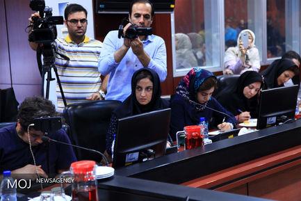 نشست خبری کنفرانس بینالمللی مقابله با گرد و غبار