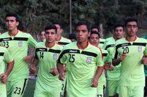 تیم ملی فوتبال نوجوانان در یزد اردو می زند