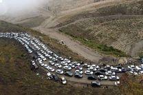 محدودیتهای ترافیکی جاده چالوس در تعطیلات آخر هفته