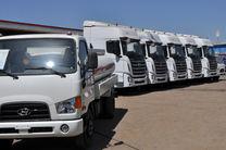 صادرات اولین محموله تولید خودروهای نیمه سنگین در منطقه ویژه