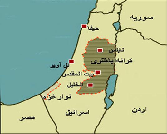 افزایش شهرکسازیهای اسرائیل در کرانه باختری
