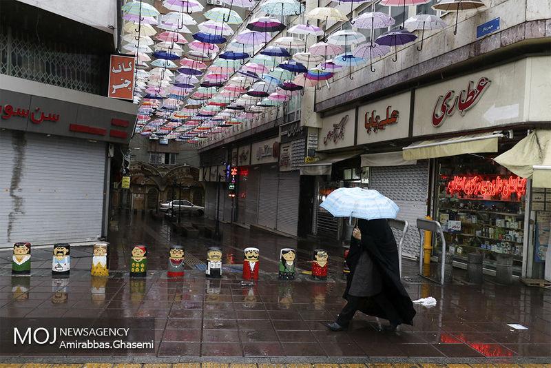 پیش بینی افزایش شدت بارش باران در کشور
