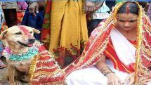 ازدواج دختر 18 ساله با سگ!