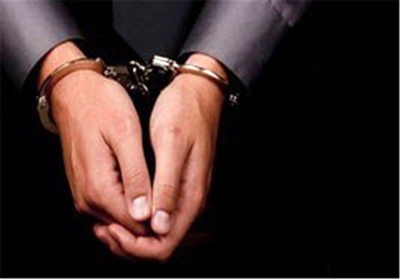 دستبند قانون بر دستان داماد قاتل در آبادان