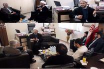 دبیرکل نُجَباء عراق با نماینده رهبری در شورای عالی امنیت دیدار کرد + تصاویر