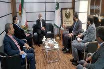 مدیر مخابرات اصفهان با مدیر پست بانک استان دیدار کرد