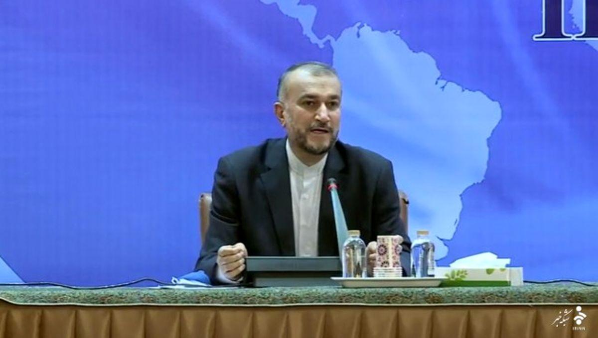 امیرعبداللهیان: ما همچنان رژیم صهیونیستی را به رسمیت نمیشناسیم