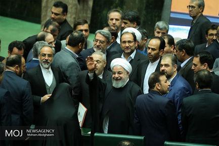 تقدیم+لایحه+بودجه+سال+۹۸+به+مجلس+توسط+رییس+جمهوری