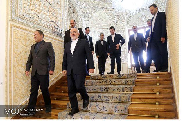 ظریف با دبیر شورای امنیت ملی ازبکستان دیدار کرد
