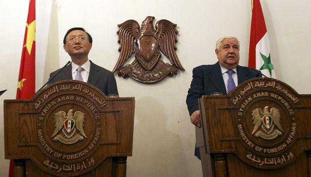 چین بار دیگر بر حمایت از سوریه در مبارزه با تروریسم تاکید کرد
