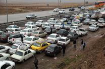 ترافیک راه های مازندران پرحجم است