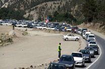 هراز باز است / حجم ترافیک در هراز و فیروزکوه بالاست