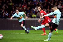 میزبان جام جهانی برابر بلژیک از شکست گریخت/ شکست سنگین کرواتها