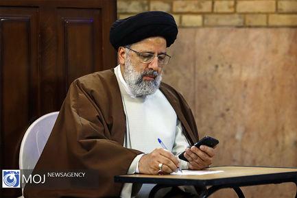 حضور رییس قوه قضاییه در انتخابات یازدهمین دوره مجلس شورای اسلامی / رییسی