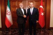رایزنی « ظریف» با «چاووش اوغلو» در ترکیه