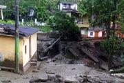 سیل و رانش زمین در اندونزی ۱۱ کشته برجا گذاشت