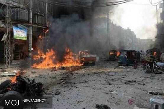 انفجار و درگیری مسلحانه در مگادیشیو