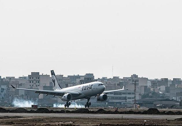 تأخیر 14 ساعته پرواز استانبول تهران هواپیمایی معراج