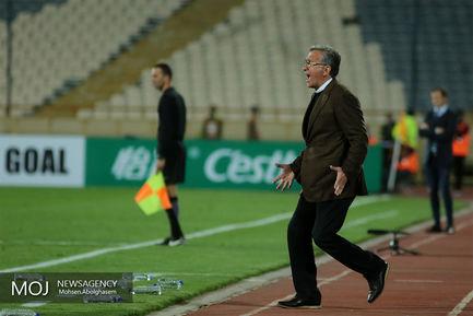 دیدار تیم های فوتبال پرسپولیس ایران و الوصل امارات
