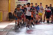 اردوی تیم ملی کشتی آزاد در خانه کشتی اردبیل