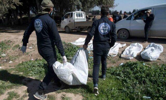 کشف گور جمعی با حدود ۲۰۰ جسد در رقه سوریه