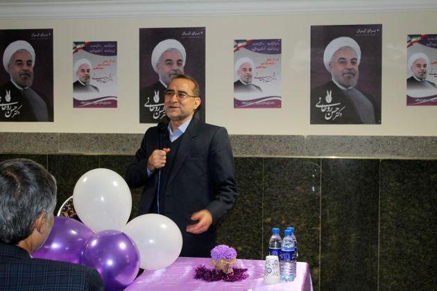 ستاد سلامت حامیان دکتر حسن روحانی در کرمانشاه افتتاح شد