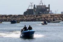 4 فروند شناور متخلف در آب های کیش توقیف شد