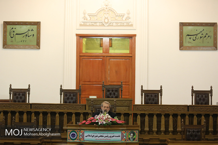علی لاریجانی رییس مجلس شورای اسلامی