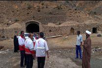 امدادرسانی نیروهای هلال احمر به سیل زدگان شهرستان بهاباد