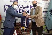 بازدید معاون خدمات مشترکین و درآمد آبفای استان اصفهان از دفتر خبرگزاری موج اصفهان