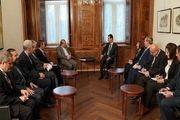 دیدار دستیار ارشد ظریف با بشار اسد در دمشق