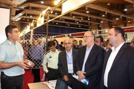 نمایشگاه فن بازار در منطقه آزاد انزلی افتتاح شد