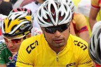 سهرابی بهترین رکابزن ایران در مرحله اول تور کینگ هایلک شد