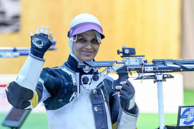 بانک پاسارگاد مدال طلای تیر اندازی الهه احمدی را تبریک گفت