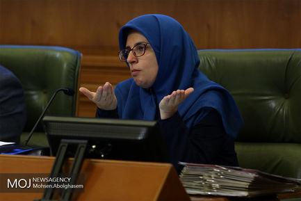 یکصد و بیست و چهارمین جلسه شورای شهر تهران/بهاره آروین