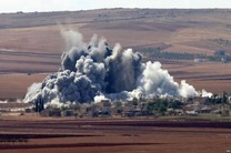 حلقه محاصره داعش تنگ تر شد
