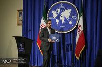 ابراز همدردی سخنگوی وزارت خارجه با دولت و مردم سریلانکا