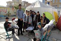 توزیع کمک های غیرنقدی بانک ملت بین دانش آموزان شهرستان زلزله زده سرپل ذهاب