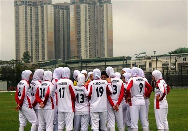 فوتبال بانوان ایران در جایگاه پنجاهوپنجم دنیا