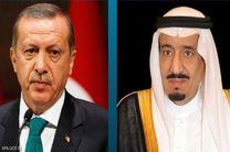 """گفتگوی صلح آمیز پادشاه عربستان و اردوغان در مورد پرونده """"جمال خاشقجی"""""""