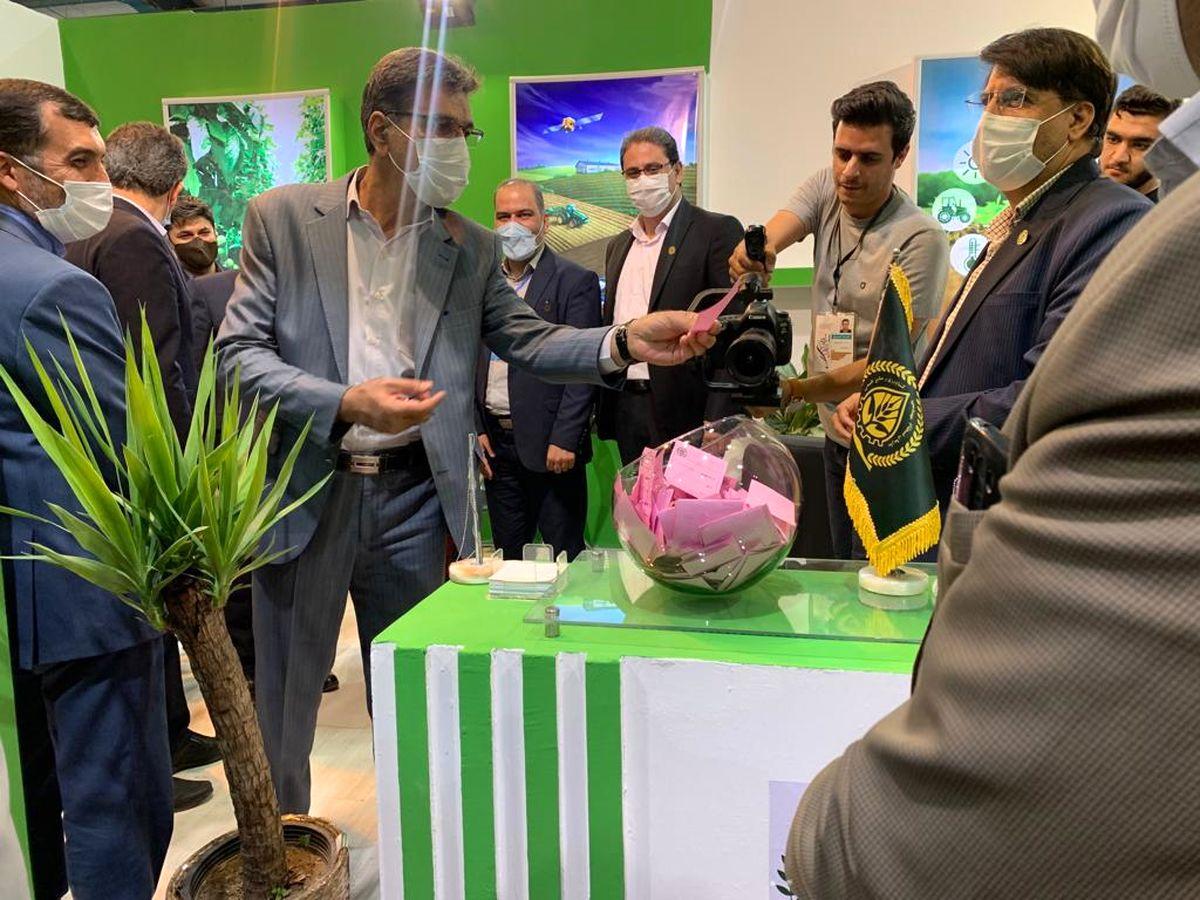 حضور نظام مهندسی کشاورزی یزد در نمایشگاه دام، طیور، کشاورزی، ماشینآلات و صنایع وابسته