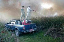 پنج مورد حریق در پارک ملی بوجاق مهار شد