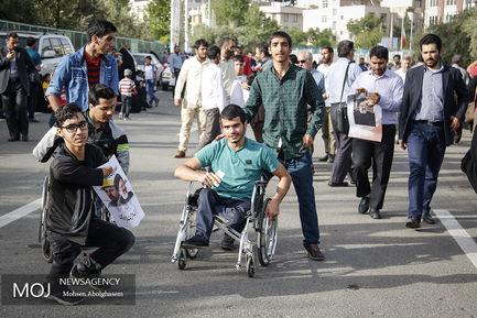 همایش حامیان سید ابراهیم رئیسی در  مصلی تهران