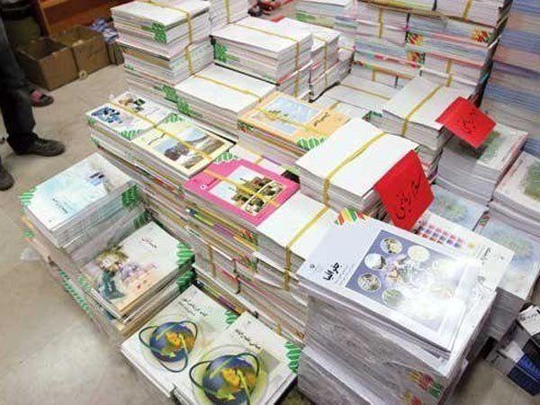 توزیع کتب پایه دوازدهم در کردستان