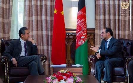 وزیر خارجه چین با همتای افغان خود در کابل دیدار کرد