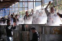 طبخ و توزیع 48 هزار کیلو آش صلواتی در شیراز
