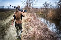 دستگیری شکارچی غیر مجاز در هرمزگان